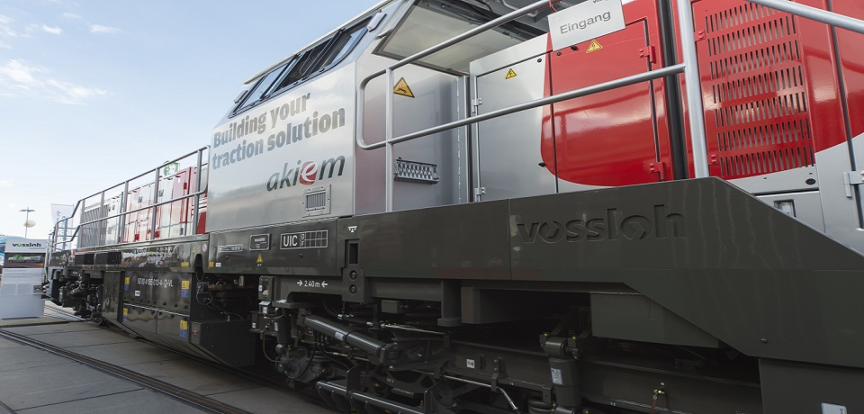 Vossloh Locomotives DE 18 Akiem